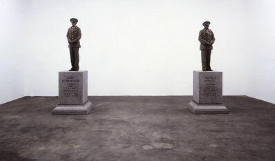 Keith Edmier, 'Emil Dobbelstein and Henry J. Drope', 2000