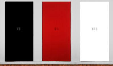 Ananké Asseff, 'Banners (black, red and white) | Estandartes (negro, rojo y blanco)', 2021