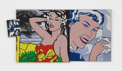 Richard Pettibone, 'Andy Warhol, 'Jackie', 1964 (four times); Roy Lichtenstein, 'Aloha', 1962 and 'The Refrigerator', 1962', 1971