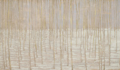 David Grossmann, 'Winter Forest with Shadow Lines', 2019