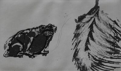Francisco Toledo, 'La rana y el buey', 2013