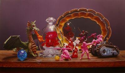 Keitoku Toizumi, 'Dragon and red rose', 2020