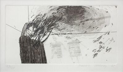 David Hockney, 'Fires of Furious Desire', 1961