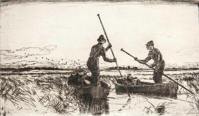 Frank Weston Benson, 'Two Gunners', 1930