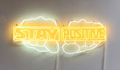 Derrick Adams, 'Stay Positive', 2018
