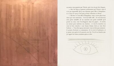 Pablo Picasso, 'The Eye (Plate X)', 1949