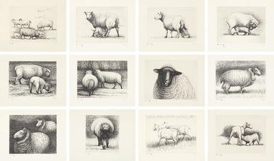 Henry Moore, 'Sheep', 1972-74