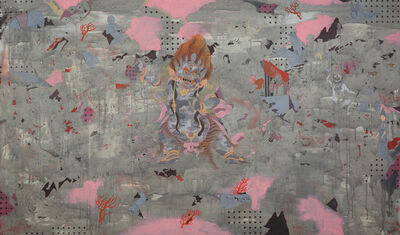 Baatarzorig Batjargal, 'Smoke', 2017
