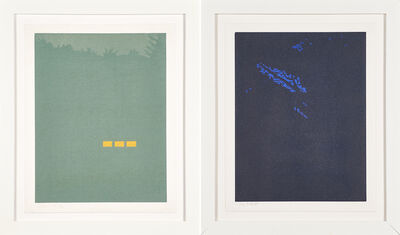 Alex Katz, 'Fog and Night from the Northern Landscapes series', 1994