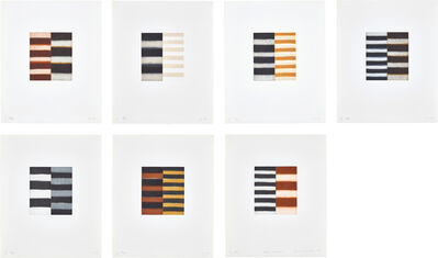Sean Scully, 'Seven Mirrors', 1997
