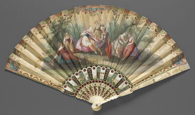 Various Artists, 'Fan, Italian (Venice)', ca. 1730