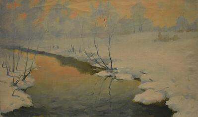 Vladimir Frolovich Stroev, 'The dawn', 1967