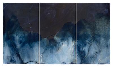 Meghann Riepenhoff, 'Littoral Drift #1315 (Manzanita Bay, WA 10.01.19, Draped on Windfall Madrone, Ship Waves)', 2019