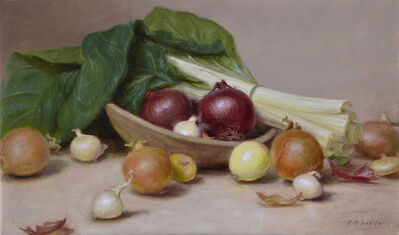 Gracie Devito, 'Onions and Swiss Chard'