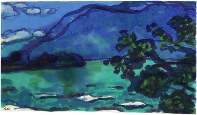 Emil Nolde, 'Lago Maggiore', 1930