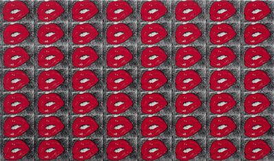 Daido Moriyama, 'Lips (Black and Red)', 2020
