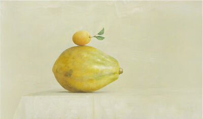 Ahmad Zakii Anwar, 'Papaya & Yellow Plum', 2019