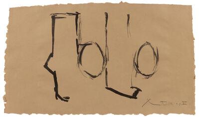 Robert Motherwell, 'Spanish Elegy I', 1975