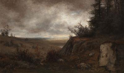 Jervis McEntee, 'Late Autumn ', Late 19th century