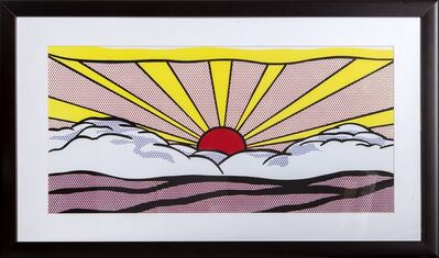 Roy Lichtenstein, 'Sunrise', ca. 2000