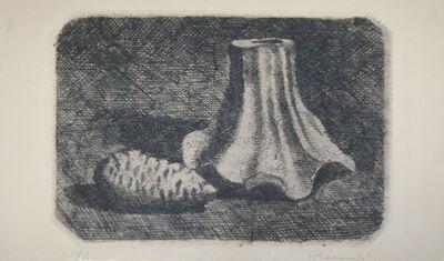Giorgio Morandi, 'Natura morta con pigna (Still life with pine cone)', 1922