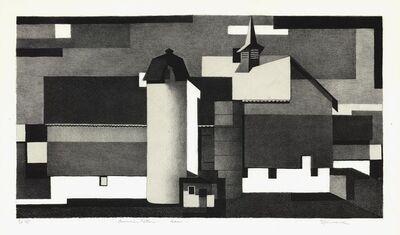 Benton Spruance, 'American Pattern-Barn.', 1940