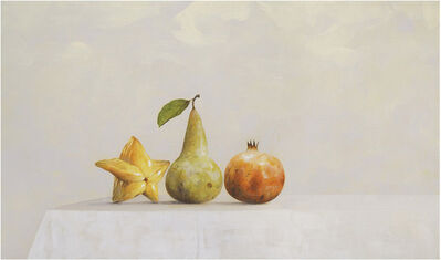 Ahmad Zakii Anwar, 'Starfruit, Pear, Pomegranate', 2019