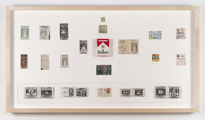 James Castle, 'Untitled (Marlboro Box)', n.d.