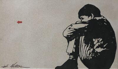 Jef Aérosol, 'Sitting Kid', 2020