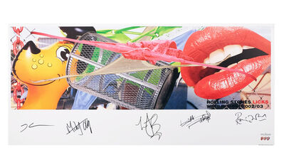 Jeff Koons, 'Rolling Stones Licks World Tour 2002/2003', 2004