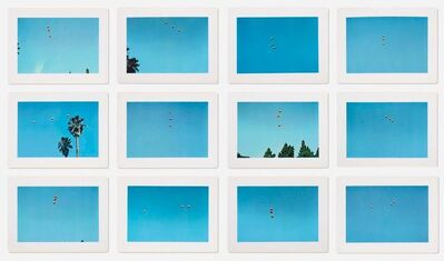John Baldessari, 'Throwing Three Balls in the Air to Get a Straight Line (Best of Thirty-Six Attempts)', 1973