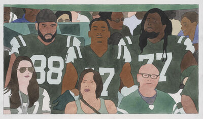 Kota Ezawa, 'National Anthem (New York Jets)', 2019