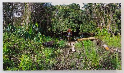 Onajide Shabaka, 'Cottica river boat rest', 2017