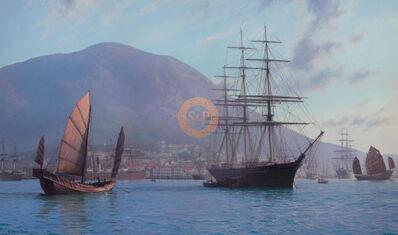 John Steven Dews, ''Lothair' loading tea, Hong Kong, 1873', 21 Century