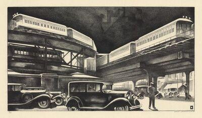 Louis Lozowick, 'Traffic.', 1930