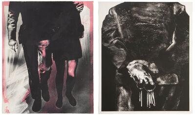 """Rafael Canogar, '""""El Canceleno"""" and """"El Paseo""""', 1969"""