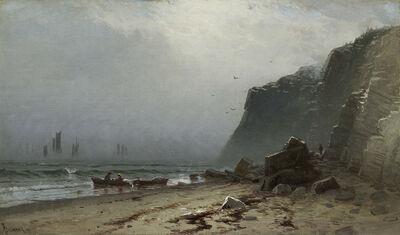 Alfred Thompson Bricher, 'Lifting Fog, Grand Manan', Date unknown.