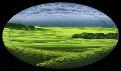 Daniele Fissore, 'Oval Green', 2001