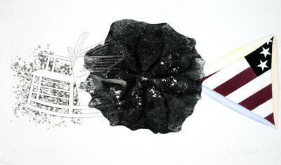 James Rosenquist, 'Black Triangle (State I) ', 1978