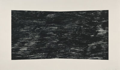 Ellsworth Kelly, 'Black (Texture)', 2001
