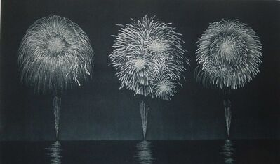 Katsunori Hamanishi, 'Spring Fireworks', 2020
