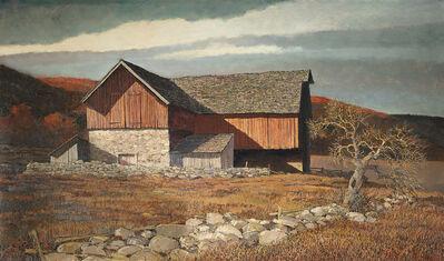 Eric Sloane, 'Bucks County Barn, Late Afternoon'
