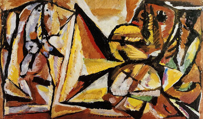 Marlen Spindler, 'Around Pyramid', 1982