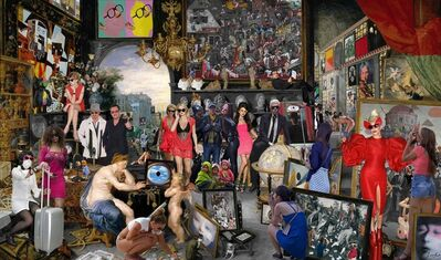 Lluis Barba, 'Sight. Jan Brueghel & Peter Paul Rubens', 2016