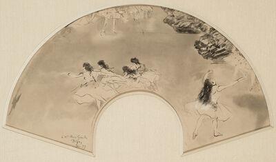 Edgar Degas, 'Scene at the Ballet (Scene de ballet)', 1879