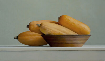 Janet Rickus, 'Banana Squash and Brown Bowl', 2015