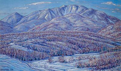 Harold Weston, 'Dix Range, Winter', 1949