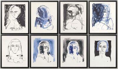 Tracey Emin, 'These Feelings Were True (set of 8)', 2020