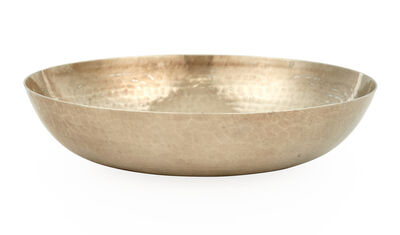Jean Dunand, 'Hand-Hammered Silver Bowl'