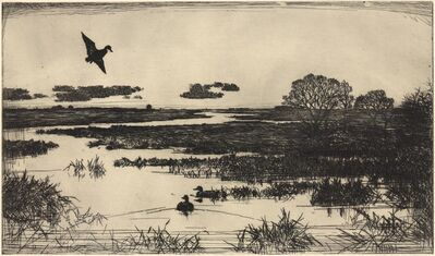 Frank Weston Benson, 'Essex Marshes.', 1930